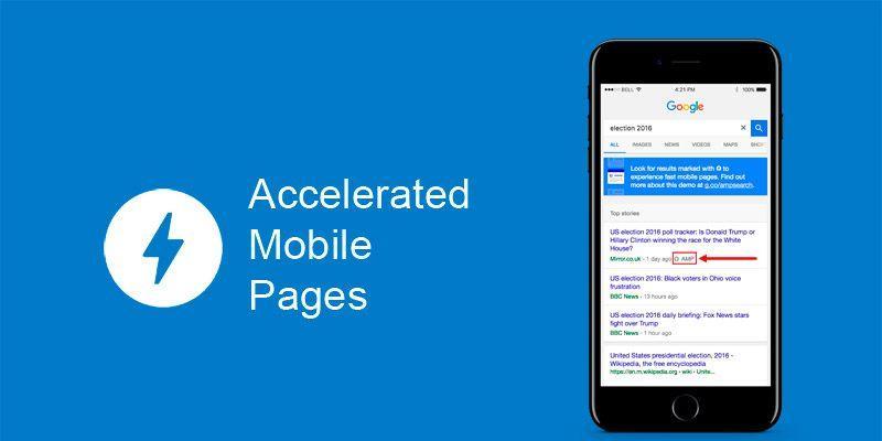 Giao diện phiên bản AMP giúp tối ưu giao diện mobile wordpress hiệu quả