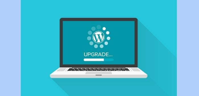 Update WordPress giúp tăng tốc website