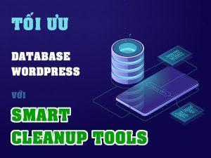 tối ưu database wordpress với Smart Cleanup Tools