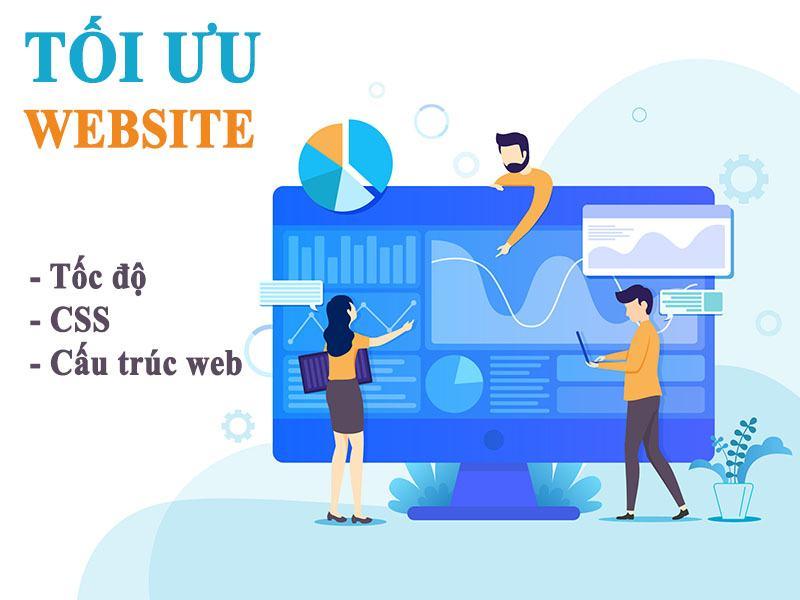 Tối ưu Website bằng cách Tối Ưu Tốc Độ, CSS, Cấu Trúc Web