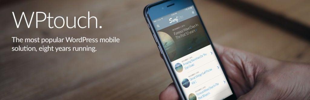 WPtouch tối ưu WordPress trên mobile