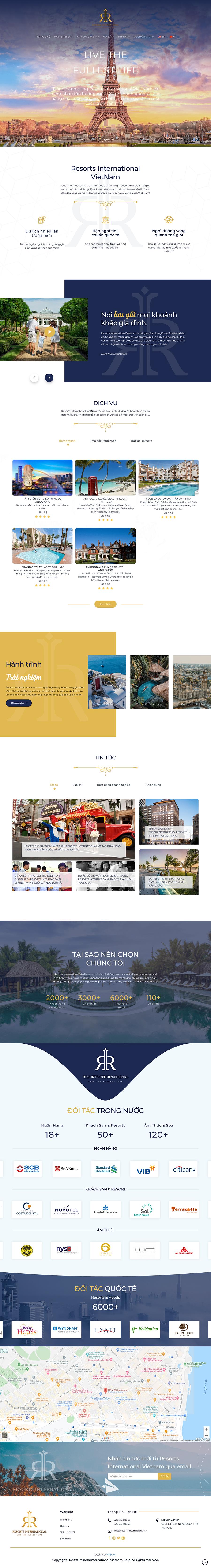 Dự án cho thuê căn hộ nghỉ dưỡng Resort International