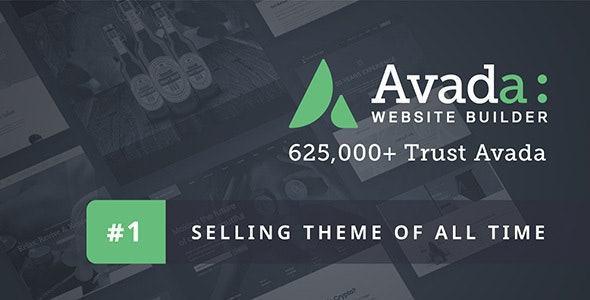 Avada - Giao diện thiết kế website công ty chuyên nghiệp