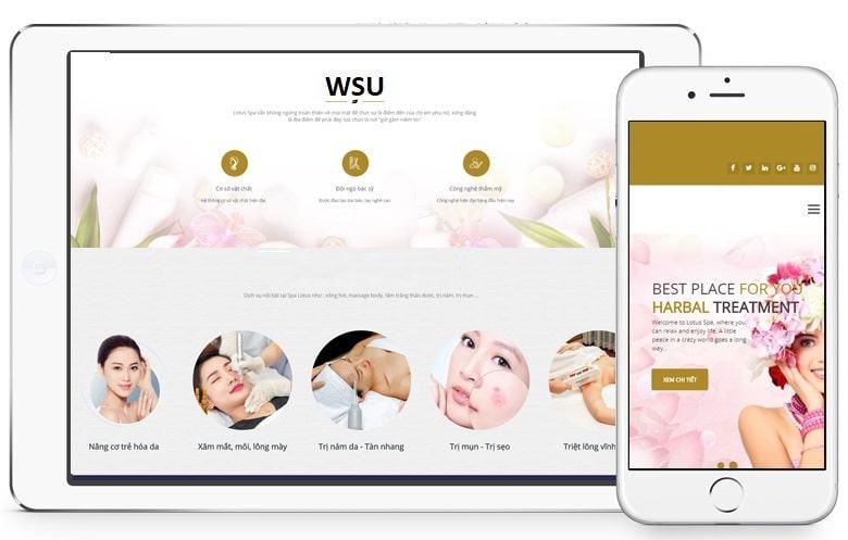 Thiết kế website thẩm mỹ trở nên cần thiết