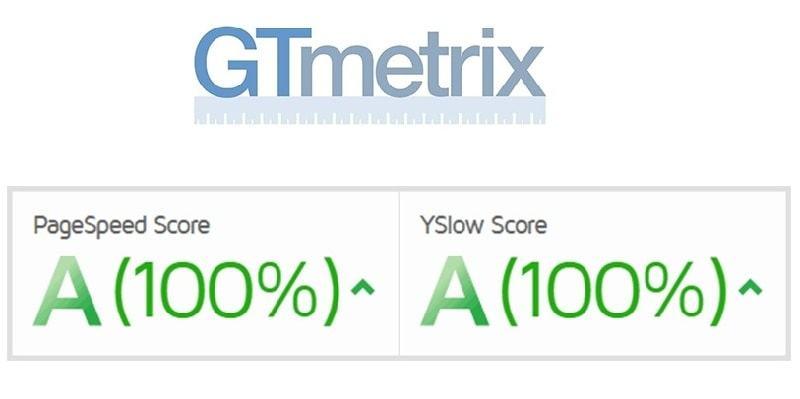 GTmetrix được sử dụng phổ biến để kiểm tra tốc độ website