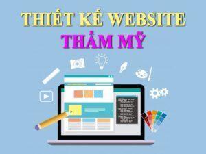 thiết kế website thẩm mỹ