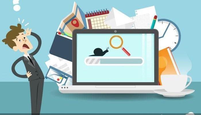 Trang web chậm gây ảnh hưởng đến trải nghiệm người dùng