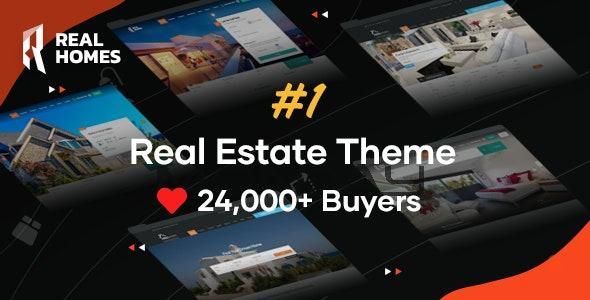 Theme thiết kế website bất động sản RealHomes