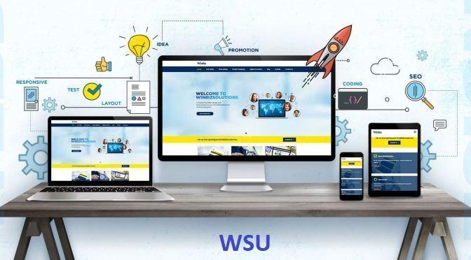 Dịch vụ thiết kế website tại WSU chuyên nghiệp uy tín