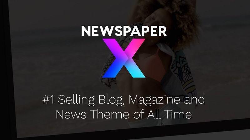 Newspaper - Giao diện thiết kế website tin tức dễ dàng