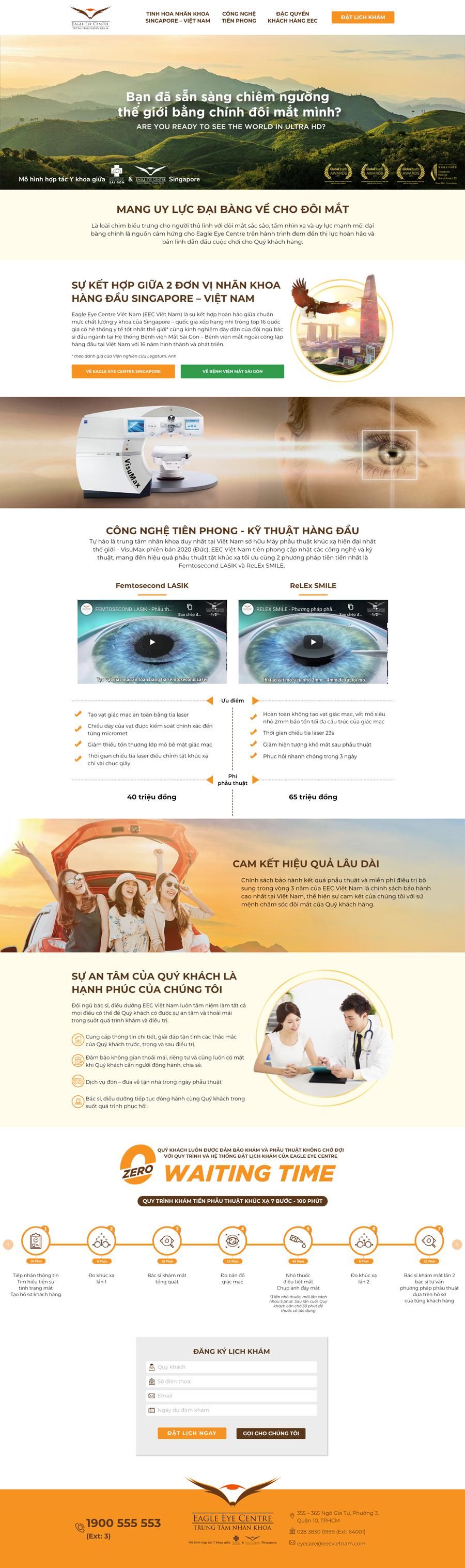 Dự án trung tâm nhãn khoa Eagle Eye Centre