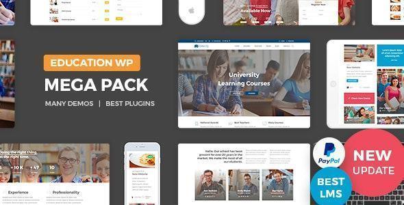 theme web ngành giáo dục