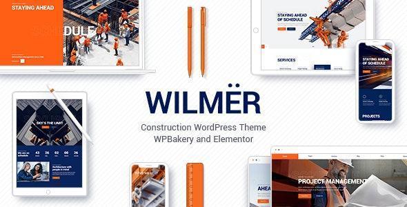theme website ngành xây dựng