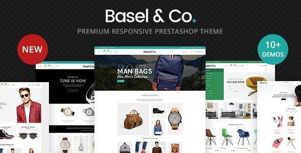 Basel - Giao diện web bán hàng đa năng