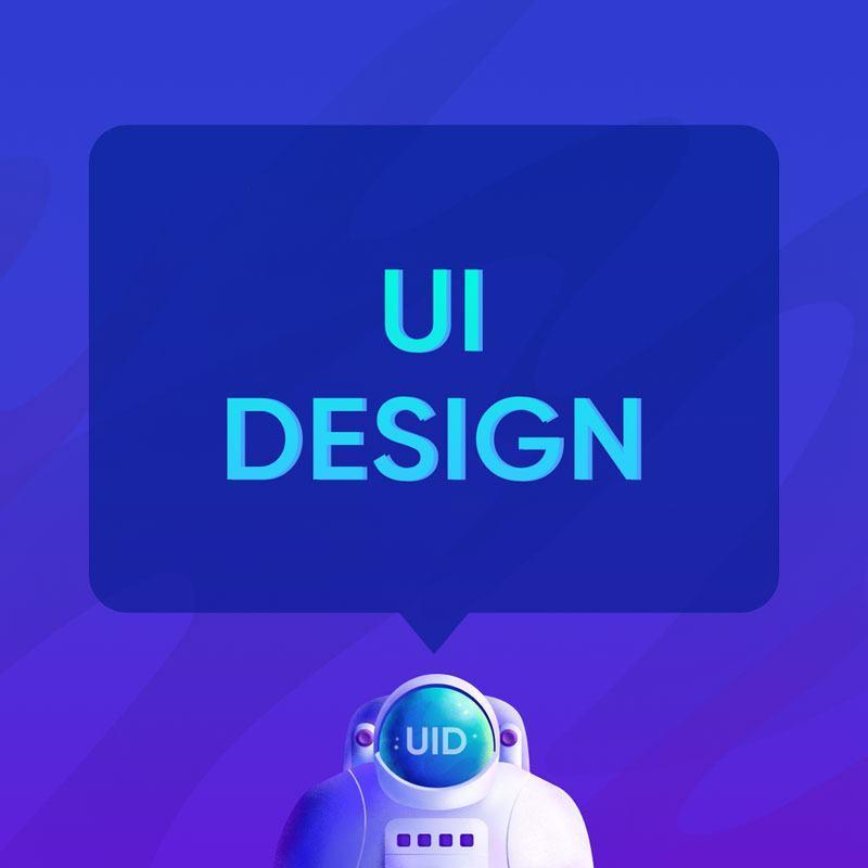 Thiết kế website có design UI
