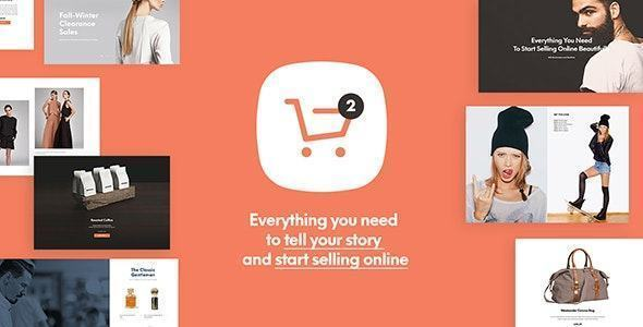 theme website ngành thời trang