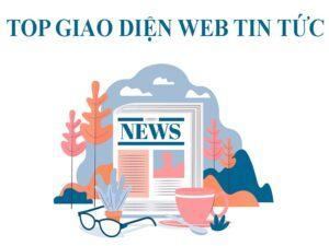 top giao diện website tin tức