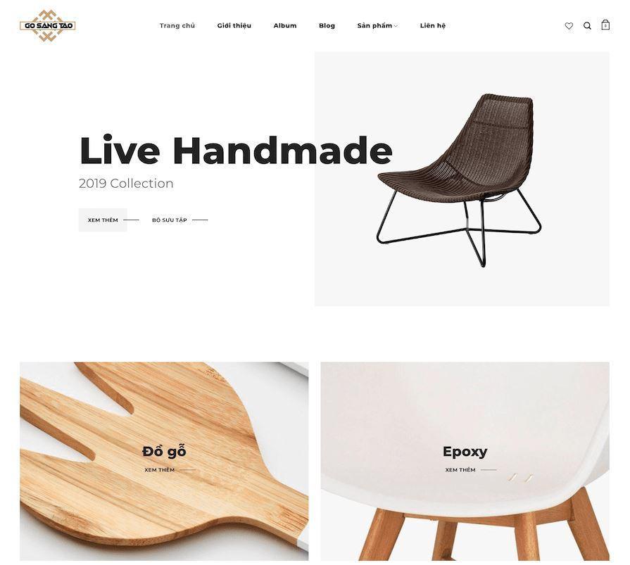 Website do WSU thiết kế