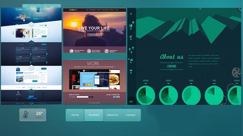 chương trình thiết kế giao diện web web phổ biến