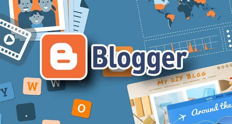 Công cụ hỗ trợ thiết kế website Blogger - Google