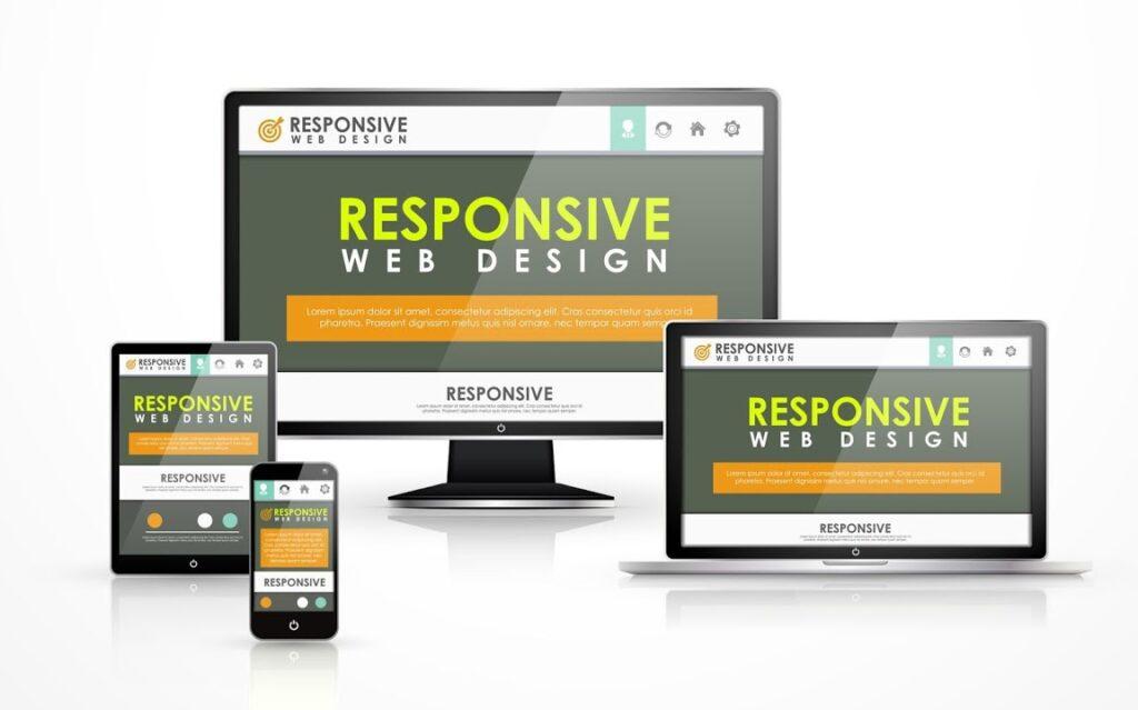 Responsive website là hình thức hiển thị đa tương thích