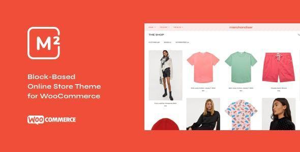 Giao diện web bán hàng Merchandiser