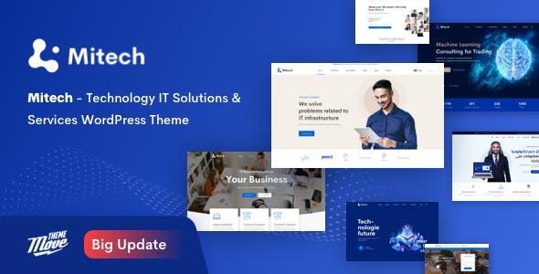 Giao diện web bán hàng Mitech