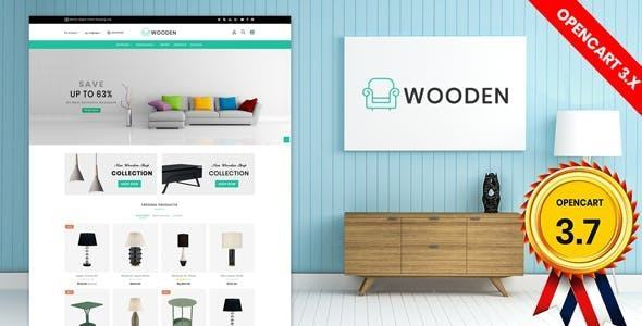 Giao diện web miễn phí Wooden