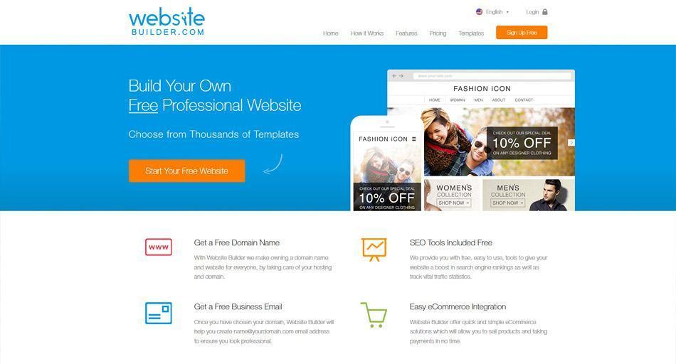 Website Builder - Giải pháp thiết kế web online hiệu quả